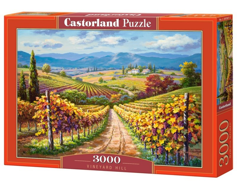 Puzzle 3000 Castorland C-300587 Winnica Hill