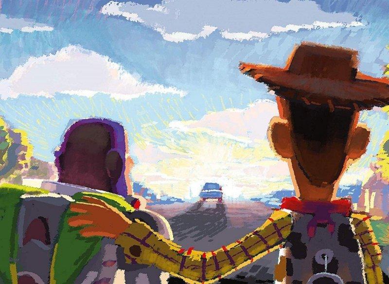 Puzzle 1000 Clementoni 39491 Art Disney - Toy Story