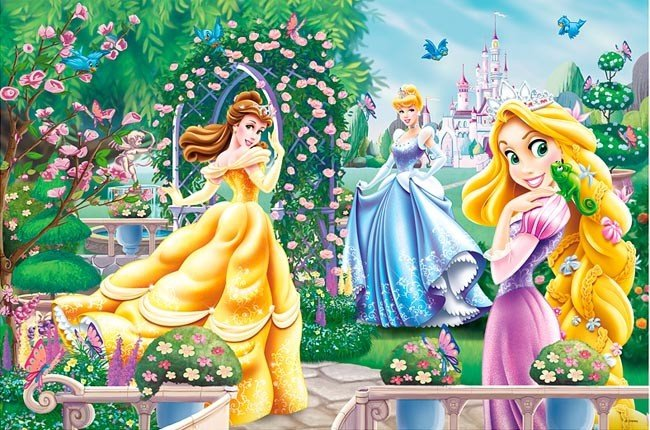 Puzzle 260 Trefl 13141 Księżniczki - Spacer Przed Balem