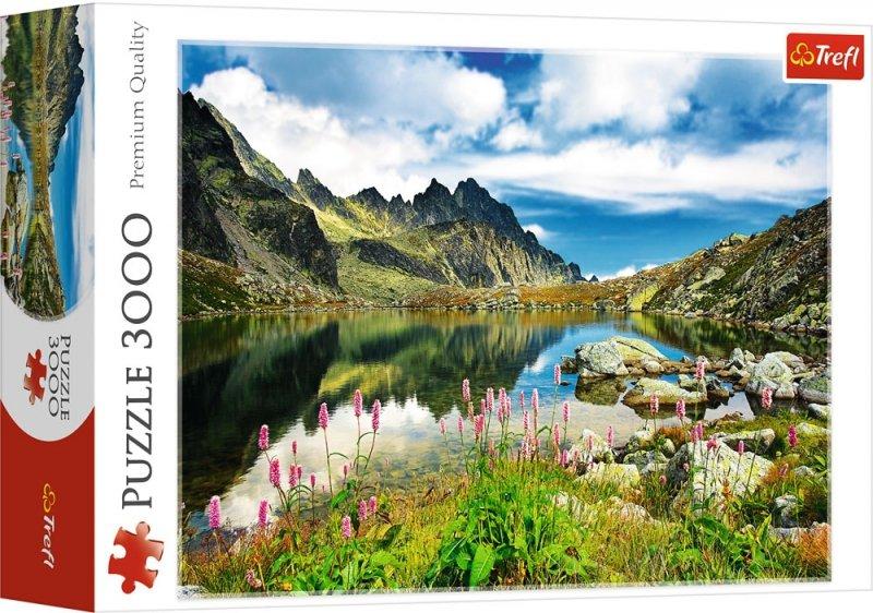 Puzzle 3000 Trefl 33031 Tatry - Staroleśniański Staw