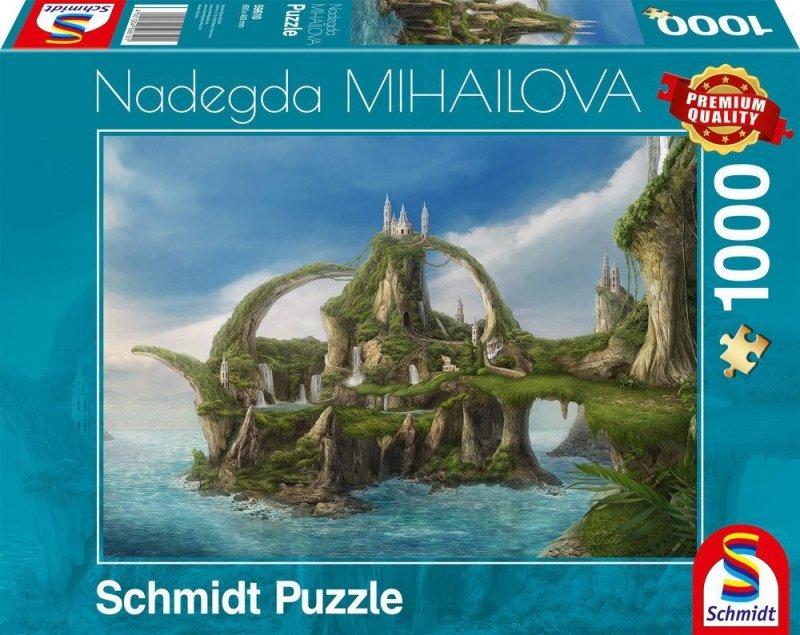 Puzzle 1000 Schmidt 59610 Nadegda Mihailova - Nadegda Mihailova - Wyspa Wodospadów