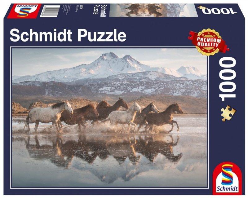 Puzzle 1000 Schmidt 58376 Konie w Kapadocji