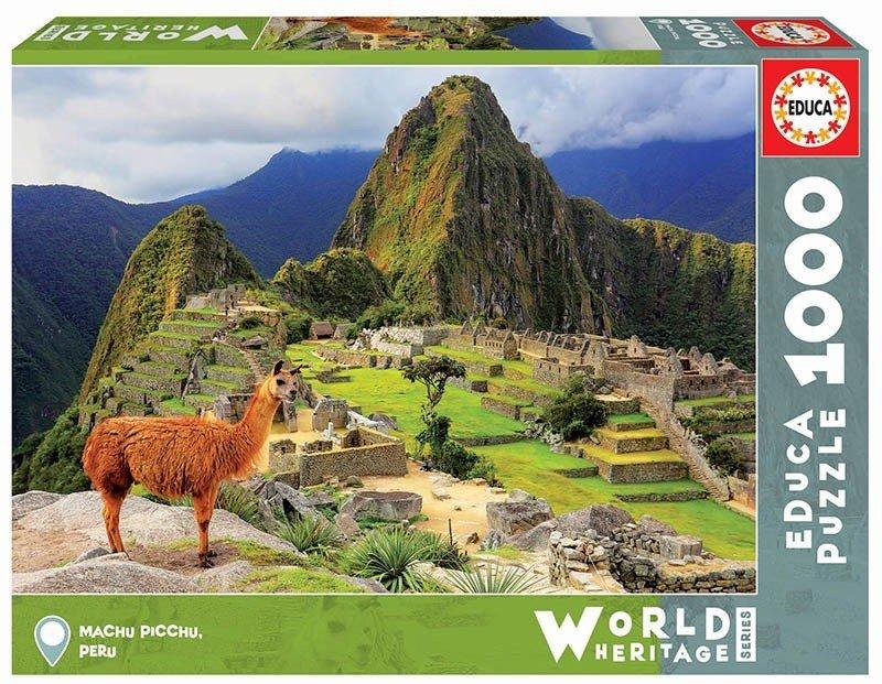 Puzzle 1000 Educa 17999 Machu Picchu - Peru