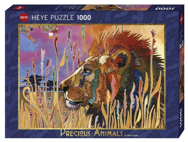 Puzzle 1000 Heye 29899 Bob Coonts - Lew - Zrób Sobie Przerwę