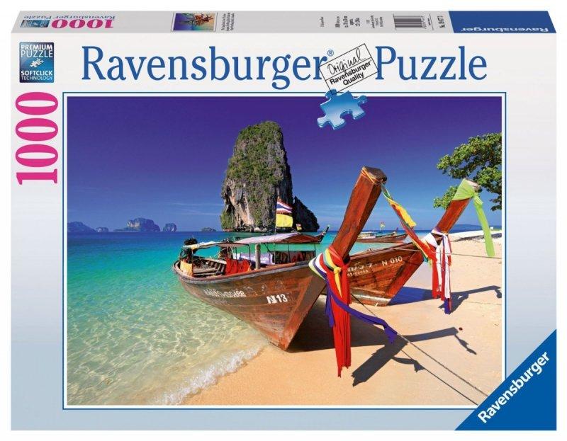 Puzzle 1000 Ravensburger 194773 Karaibska Plaża