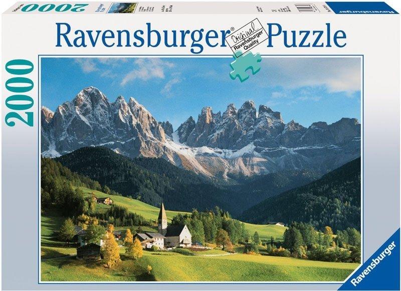 Puzzle 2000 Ravensburger 166749 Dolomity