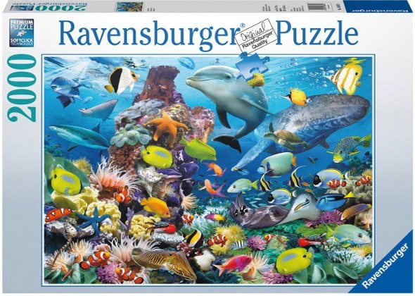 Puzzle 2000 Ravensburger 166824 Świat Oceanu