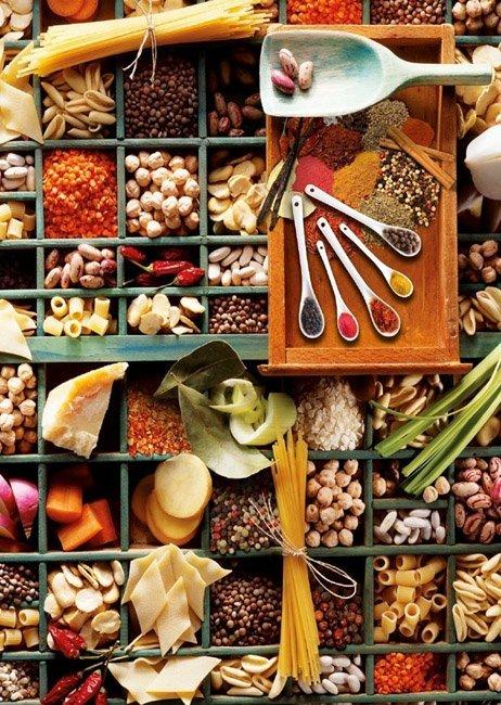 Puzzle 1000 Schmidt 58141 Kuchenne Potpourri