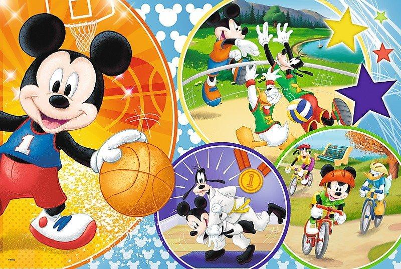Puzzle 24 Maxi Trefl 14291 Myszka Mickey - Czas na Sport!