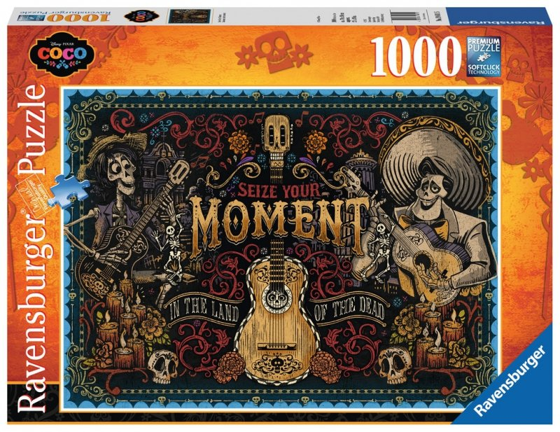 Puzzle 1000 Ravensburger 198115 Coco - Chwytaj Chwilę