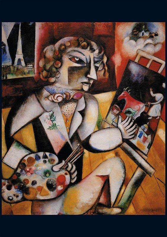 Puzzle 1000 Piatnik  P-5496 Chagall - Autoportret