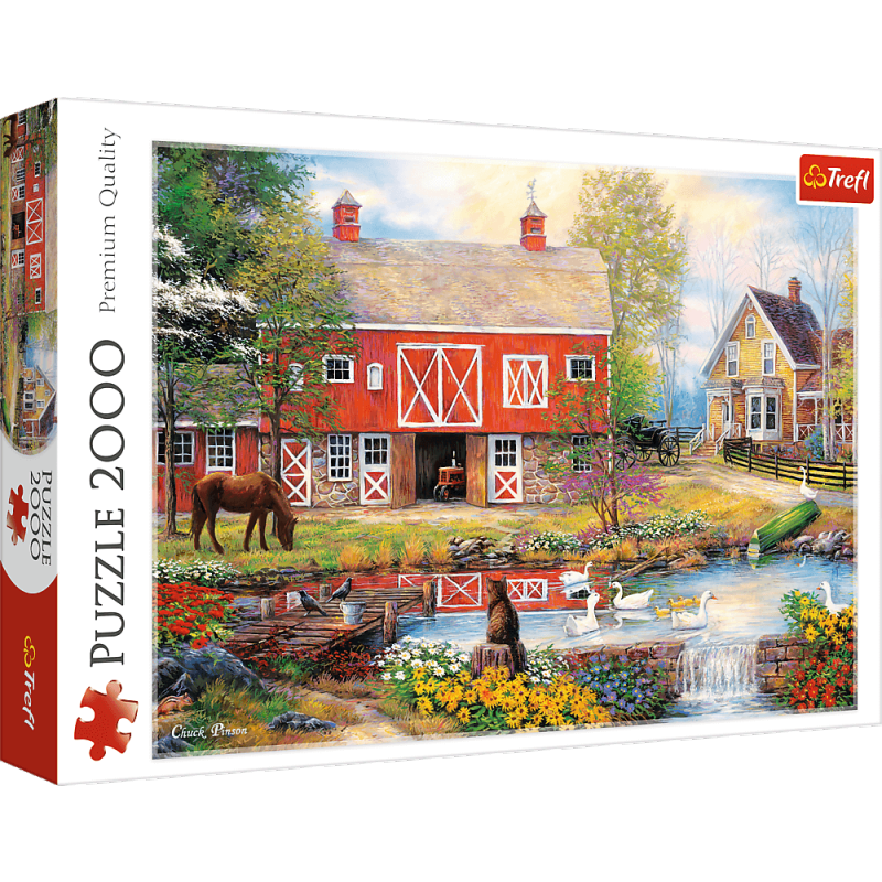 Puzzle 2000 Trefl 27106 Sielskie Życie