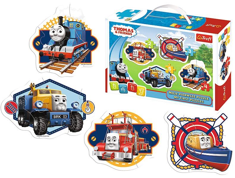 Puzzle Baby Classic Trefl T-36066 Tomek i Przyjaciele