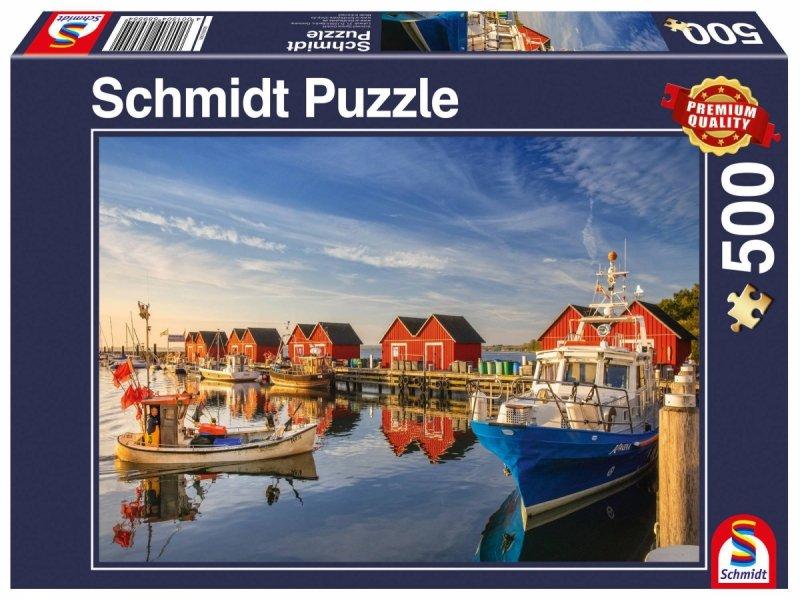Puzzle 500 Schmidt 59421 Port Rybacki - Weisse Wiek