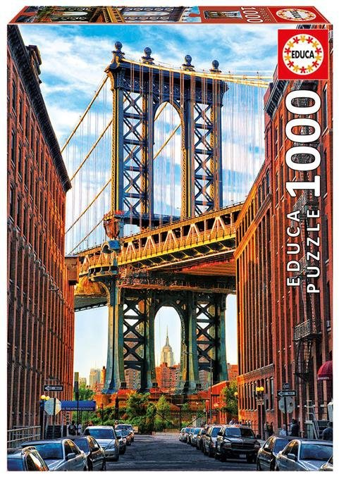 Puzzle 1000 Educa 17100 Most na Manhattanie - New York