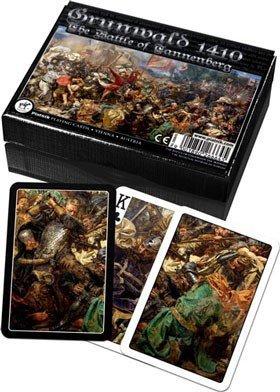 Karty do Gry Lux Piatnik 2 Talie 2666 Grunwald