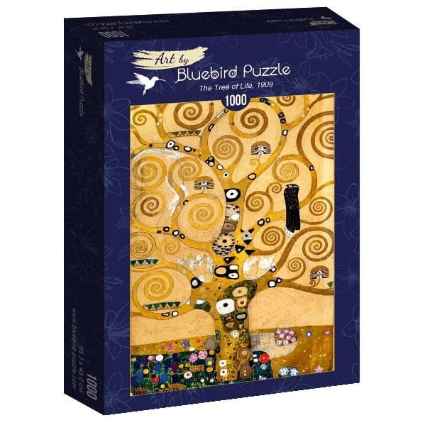 Puzzle 1000 Bluebird 60018 Gustav Klimt - Drzewo Życia - 1909