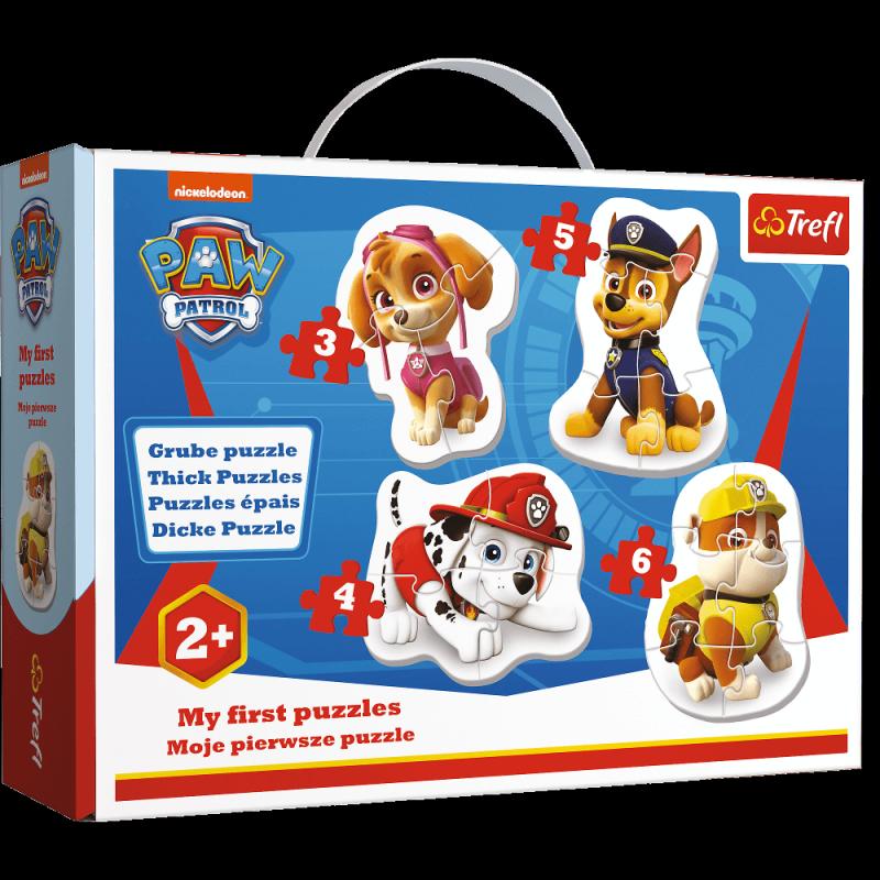 Puzzle 3,4,5,6 Baby Classic Trefl T-36087 Skye- Marshall - Chase i Rubble