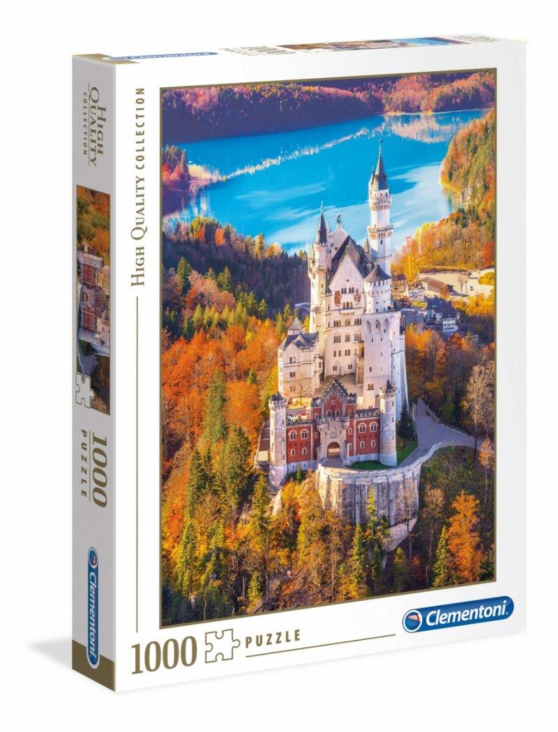 Puzzle 1000 Clementoni 39382 Zamek Neuschwanstein