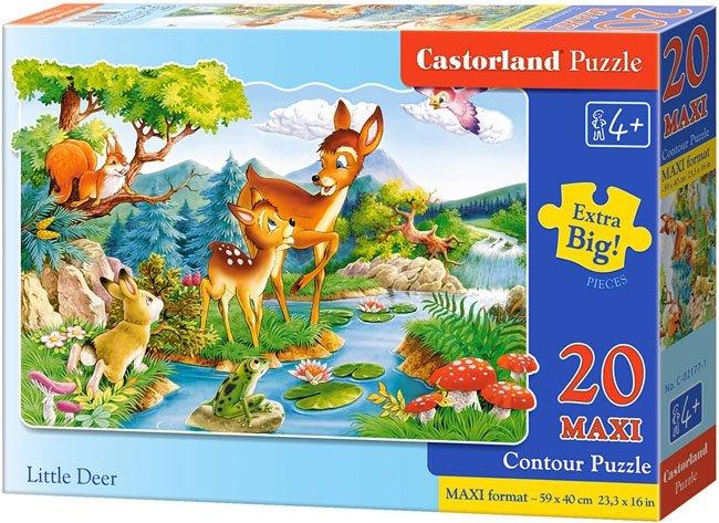 Puzzle 20 Maxi Castorland C-02177 Jelonki