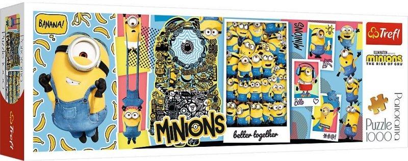 Puzzle 1000 Trefl 29049 Panorama - Minionki