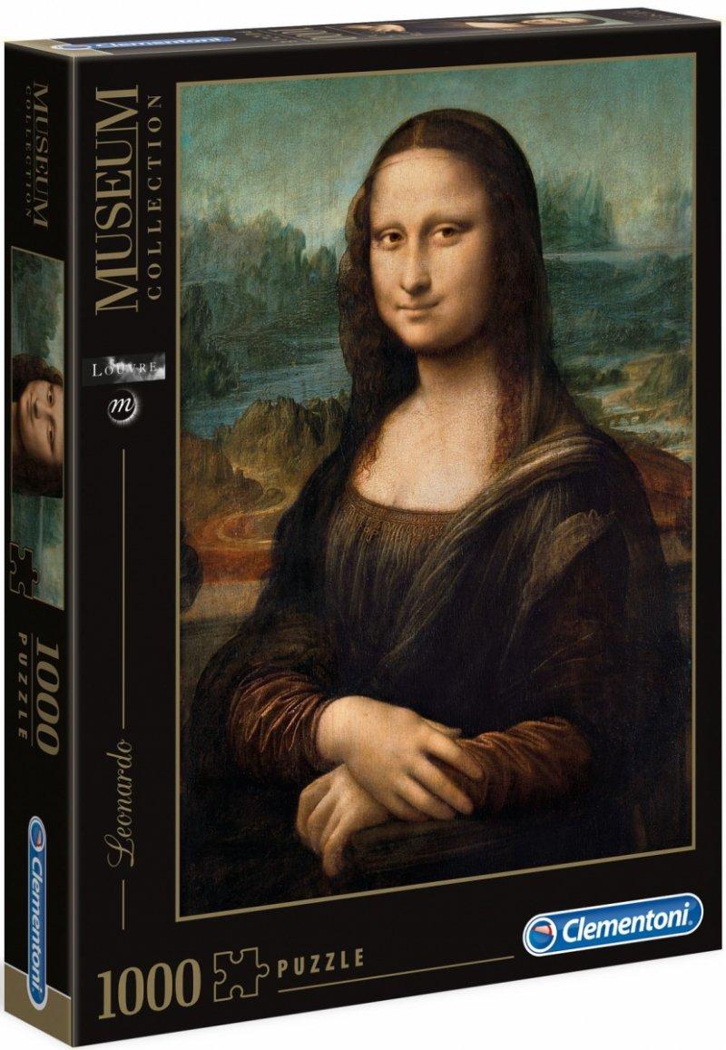 Puzzle 1000 Clementoni 31413 Mona Lisa