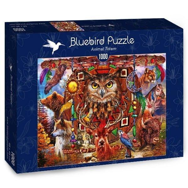 Puzzle 1000 Bluebird 70247 Ciro Marchetti - Zwierzęcy Totem