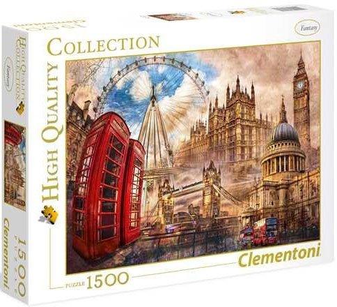 Puzzle 1500 Clementoni 31807 Vintage London