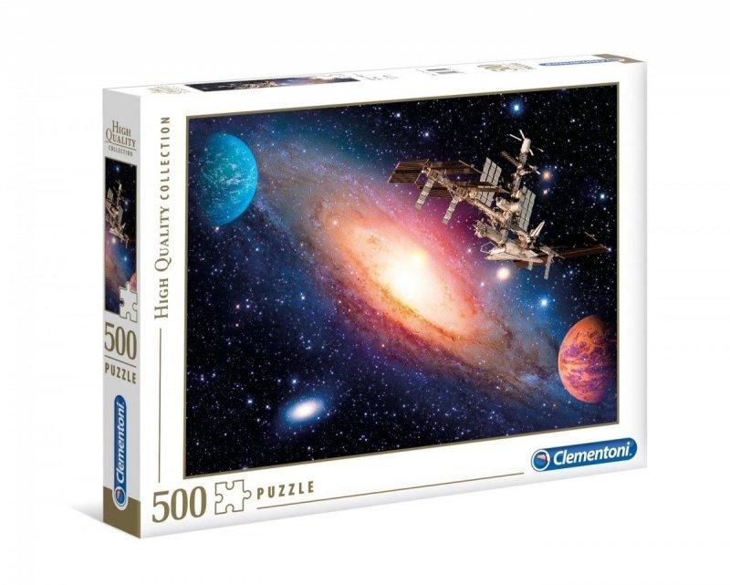 Puzzle 500 Clementoni 35075 Międzynarodowa Stacja Kosmiczna