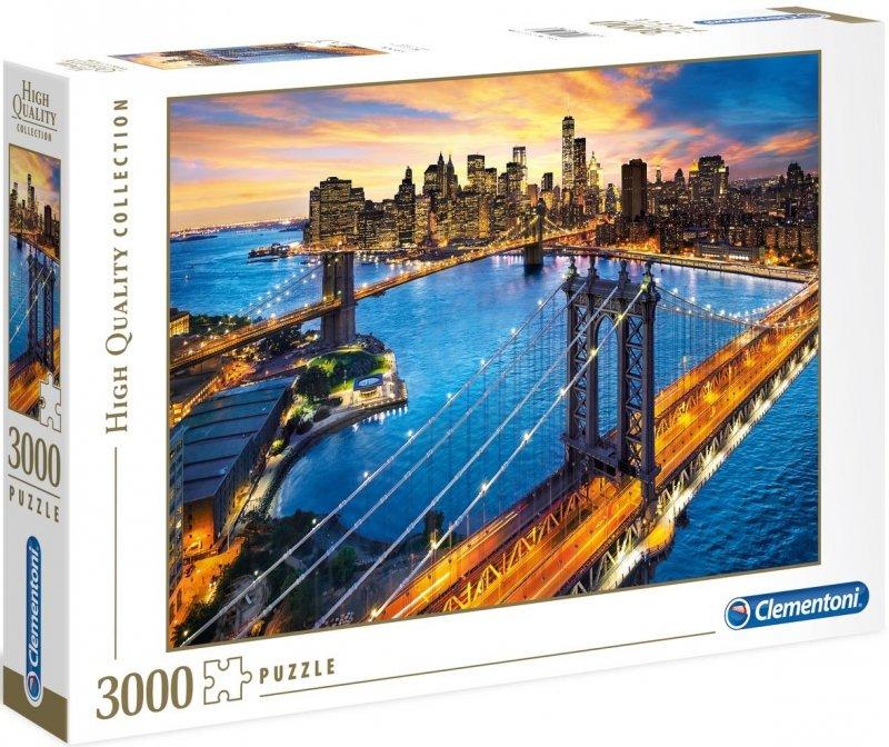 Puzzle 3000 Clementoni 33546 New York