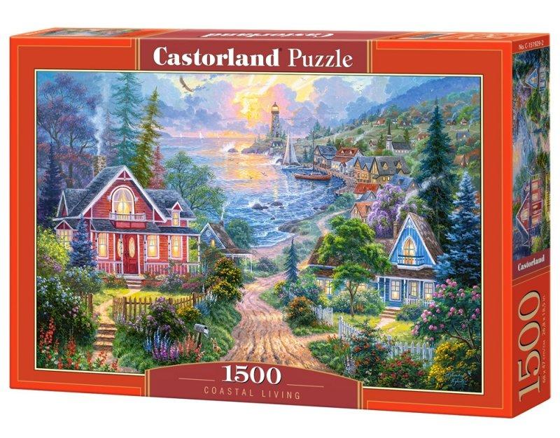 Puzzle 1500 Castorland C-151929 Życie Przybrzeżne