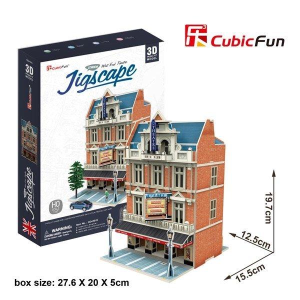 Puzzle 3D CubicFun 55 West and Theatre HO4101h