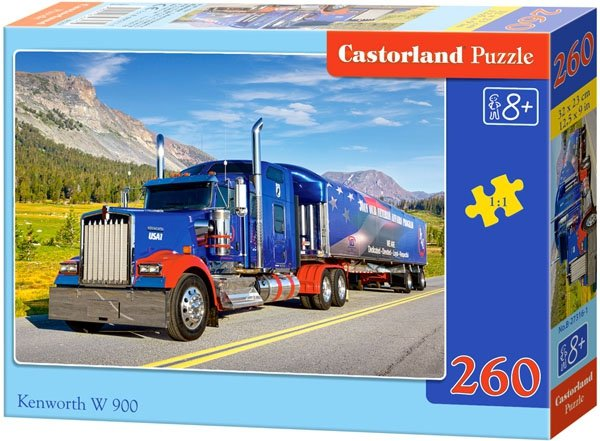 Puzzle 260 Castorland B-27316 Samochód Niebiesa Ciężarówka