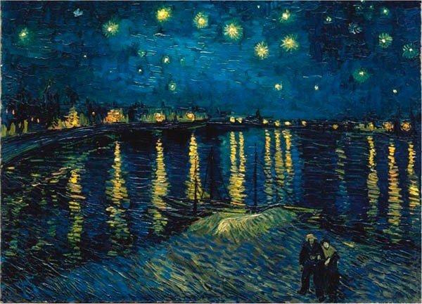 Puzzle 1000 Ravensburger 156146 Van Gogh - Gwieździsta Noc