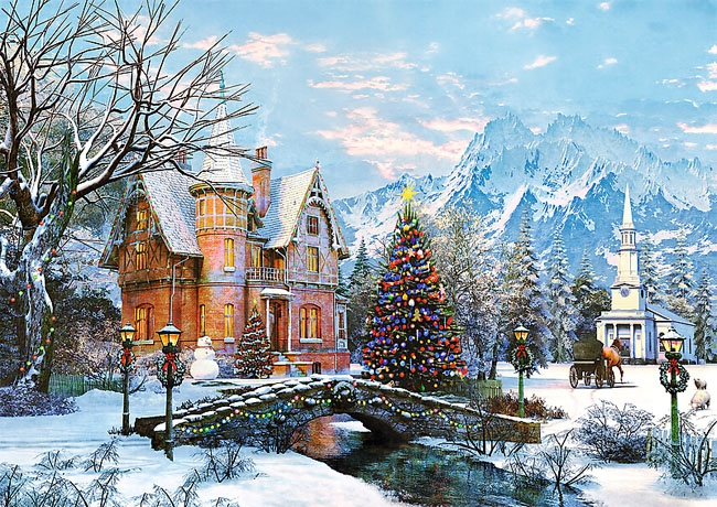 Puzzle 1000 Trefl 10439 Zimowy Krajobraz