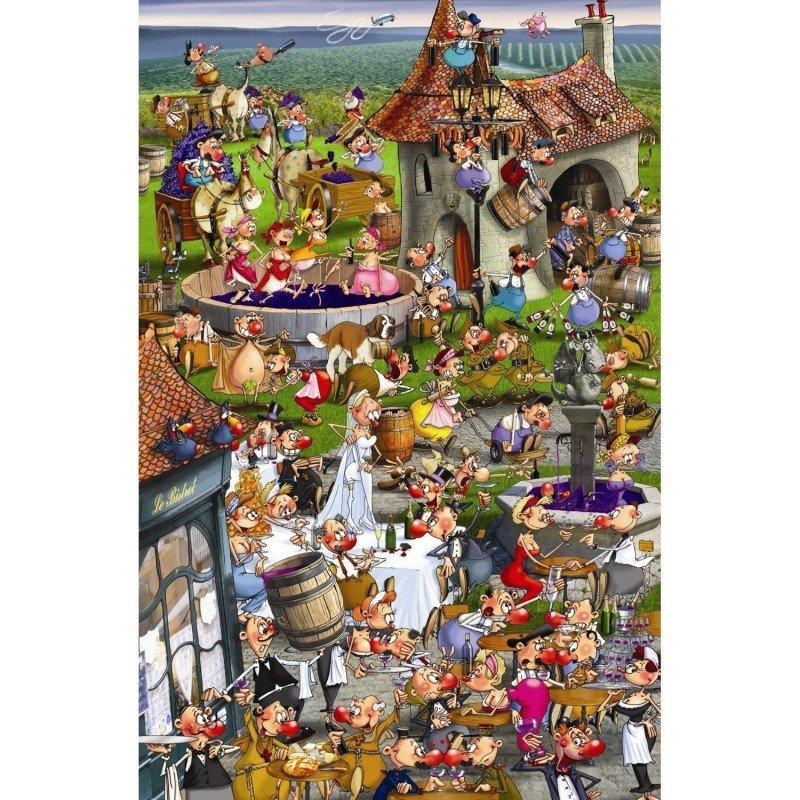 Puzzle 1000 Piatnik P-5352 Ruyer - Historia Wina