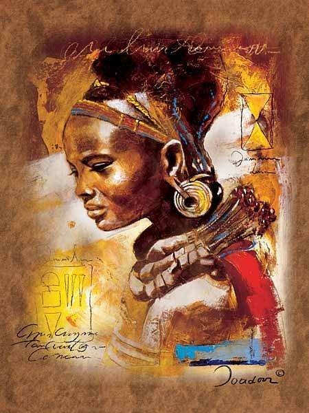 Puzzle 1000 Ravensburger 153527 Afrykańska Piękność