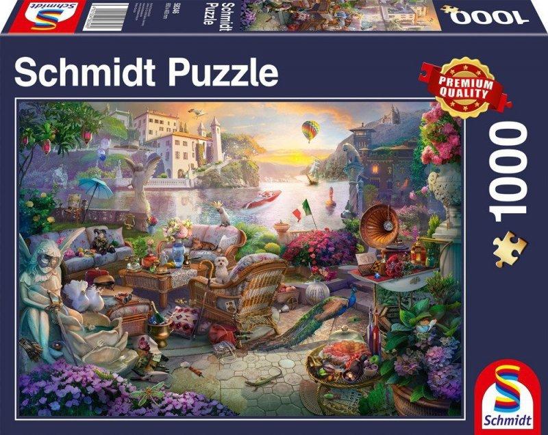 Puzzle 1000 Schmidt 58346 Taras pod Włoskim Niebem