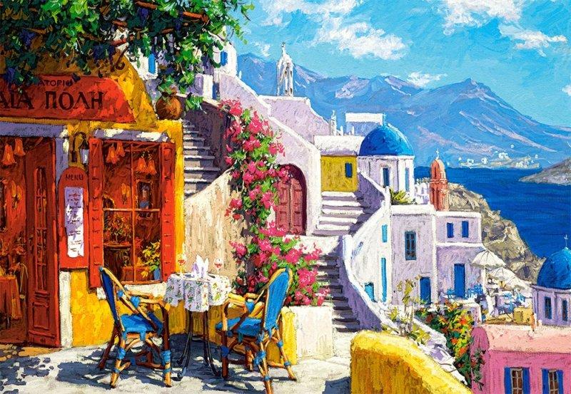 Puzzle 1000 Castorland 104130 Popołudnie na Morzu Egejskim