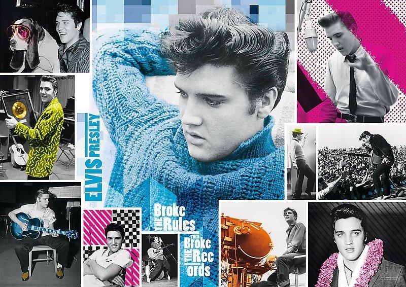 Puzzle 1000 Trefl 10541 Elvis Presley - Wiecznie Młody