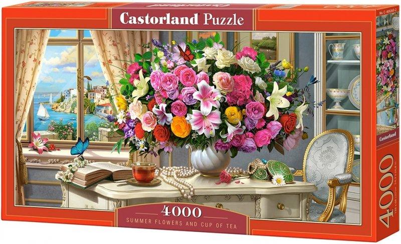 Puzzle 4000 Castorland C-400263 Letnie Kwiaty