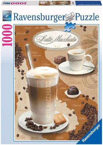 Puzzle 1000 Ravensburger 190874 Latte Macciato