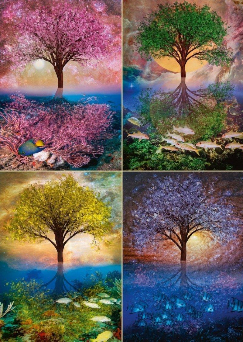 Puzzle 1000 Schmidt 58392 Magiczne Drzewo