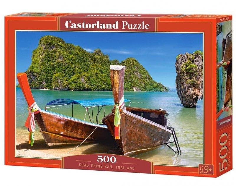 Puzzle 500 Castorland 53551 Plaża - Khao Phing Kan - Tajlandia