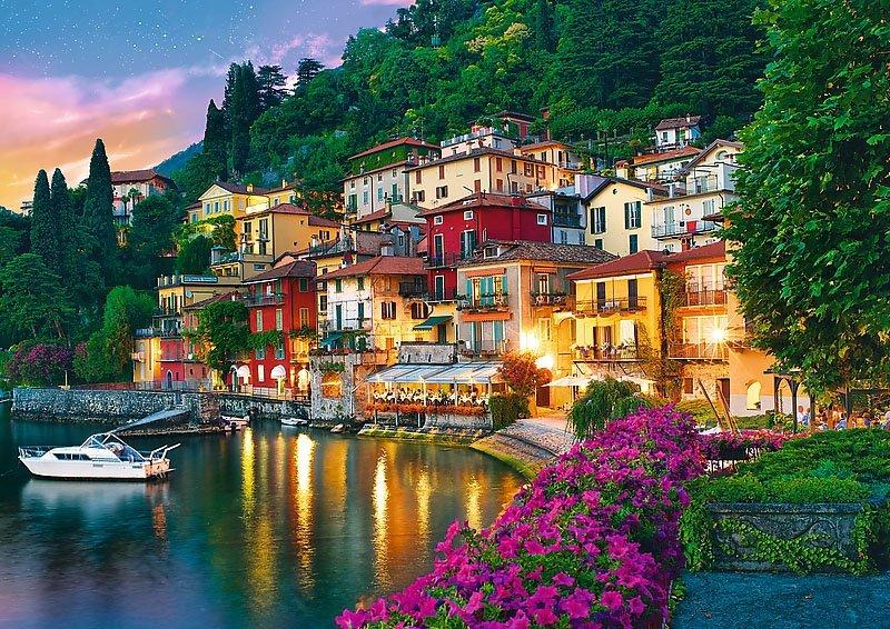 Puzzle 500 Trefl 37290 Jezioro Como - Włochy