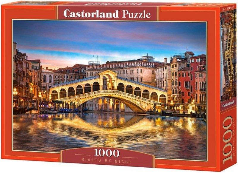 Puzzle 1000 Castorland 104215 Most - Rialto Nocą