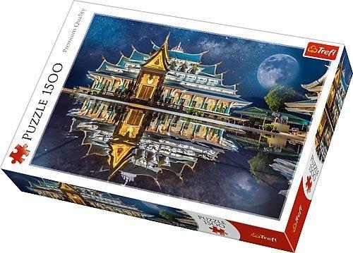 Puzzle 1500 Trefl 26141 Tajlandia - Wat Pa Phu Kon