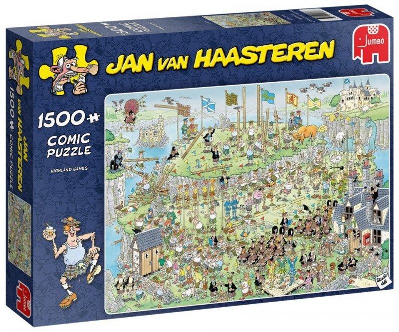 Puzzle 1500 Jumbo 19088 Jan van Haasteren - Tradycyjne Szkockie Konkursy
