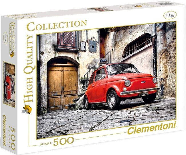 Puzzle 500 Clementoni 30575 Czerwone Auto