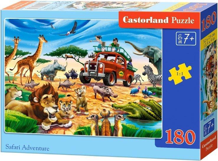 Puzzle 180 Castorland B-018390 Safari Adventure